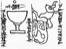 Drawing of a detail from a tablet describing how to make a ritual kettle drum from a bull's hide, Uruk c.200 BC (TCL 6, 47)