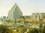 The Assyrian city of Nimrud, as re-imagined by its first excavator, Austen Henry Layard (detail).